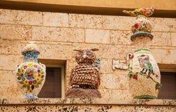 Gardening sculpture Stock Images