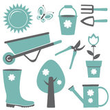 Gardening set Stock Photography