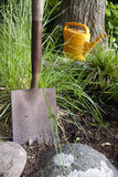 Gardening shovel Stock Image