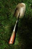 Gardening shovel royalty free stock image