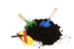 Gardening in spring royalty free stock image