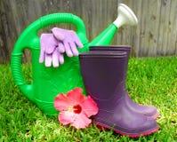Gardening Supplies Royalty Free Stock Photos
