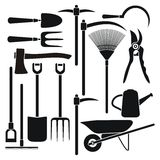 Gardening tool equipment Stock Photos