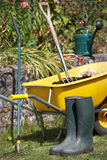 Gardening tools and accessories Royalty Free Stock Image