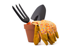 Gardening tools and accessories Royalty Free Stock Photo