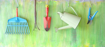Gardening tools Royalty Free Stock Image