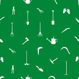 Gardening tools pattern eps10 Stock Photo
