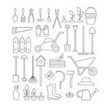 Gardening tools set. Stock Images