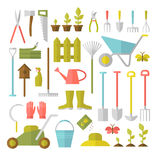 Gardening tools set. Royalty Free Stock Photography