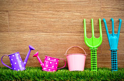Gardening tools Stock Images