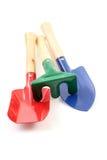 Gardening tootl. Gardening tools isolated on white Royalty Free Stock Photo