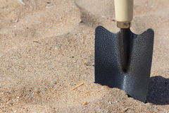 Gardening trowel Royalty Free Stock Images