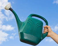 Gardening Watering Can Royalty Free Stock Photo