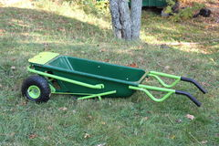 Gardening Wheelbarrel Stock Images