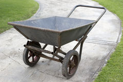 Gardening wheelbarrow Stock Photography