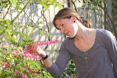 Gardening woman Stock Images