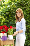 Gardening woman Royalty Free Stock Photography