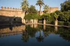 Gardens of Alcázar de los Reyes Cristianos, Cordoba Stock Photo