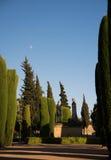 Gardens of Alcázar de los Reyes Cristianos, Cordoba Royalty Free Stock Photos