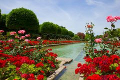 Gardens at the Alcazar, Cordoba, Spain Royalty Free Stock Images