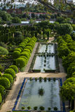 The Gardens of the Alcazar in Cordoba Stock Photography