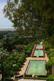 Gardens at the Alcazar, Cordoba, Spain Stock Image