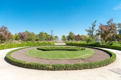Gardens in Aranjuez. Aranjuez Palace gardens, in Spain Royalty Free Stock Images