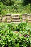 Gardens of  Barnes Museum Philadelphia, Pennsylvania Royalty Free Stock Photos