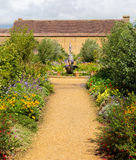 Gardens at Barrington Court near Ilminster Somerset England uk with gardens in summer sunshine Stock Image