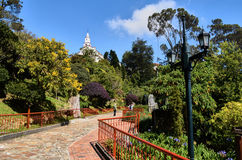 Gardens and basilica of Monserrate Stock Images
