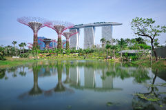 Gardens By The Bay Stock Images