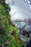 Gardens by the Bay Cloud forest pavillion Royalty Free Stock Images