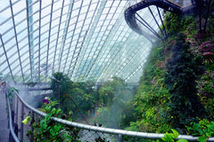 Gardens by the Bay Cloud forest pavillion Stock Image