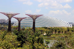 Gardens By the Bay Conservatory - Singapore Royalty Free Stock Photography
