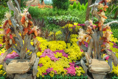 Gardens by the Bay, Flower Dome: Autumn Harvest Stock Photography