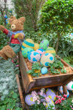 Gardens by the Bay, Flower Dome: Easter & Spring Stock Image