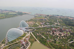 Gardens by the Bay, an integral part of a strategy. By the Singapore government to transform Singapore from a Garden City to a City in a Garden Stock Photo