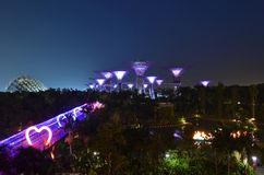 Gardens by the Bay Mid Autumn Celebration Royalty Free Stock Images