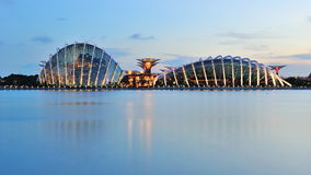 Gardens by the bay Singapore Royalty Free Stock Image