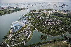 Gardens by the Bay Singapore Royalty Free Stock Photo