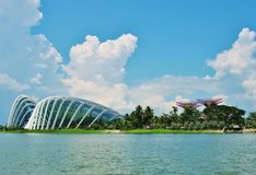 Gardens by the Bay in Singapore. Stock Photography