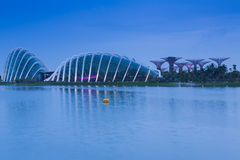 Gardens by the Bay Singapore landmark Stock Photography