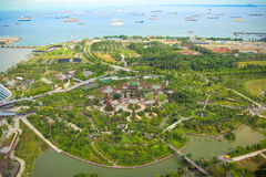 Gardens by the bay. Stock Photography