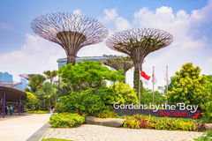 Gardens By the Bay Royalty Free Stock Photos