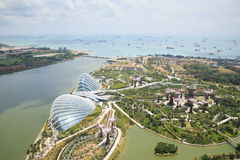 Gardens by the Bay was crowned World Building of the Year Stock Images