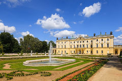 Gardens in Bialystok Stock Photo