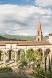 Gardens in Castiglione Fiorentino Stock Photography