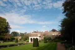 Gardens of the castle Stock Photos