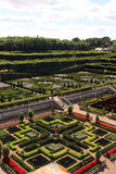 Gardens of Château Villandry Stock Photography