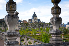 Gardens Chateau de Villandry, France Stock Photo